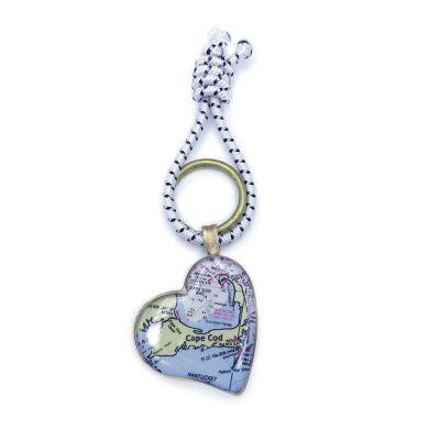 Bronze Heart Key Ring