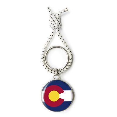 Flag Pewter Key Ring