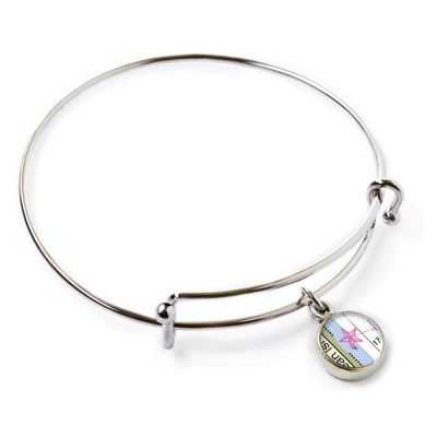Pewter Mini Expandable Bangle