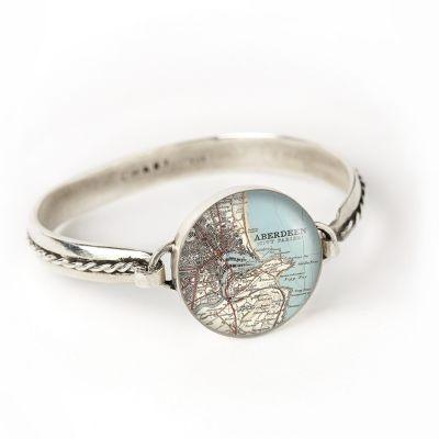 Silver Hook Cord Bracelet - Small
