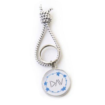 Type 1 Diabetes Pewter Key Ring
