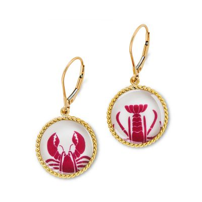 Correa/CHART Gold Lobster Claw/Tail Earrings