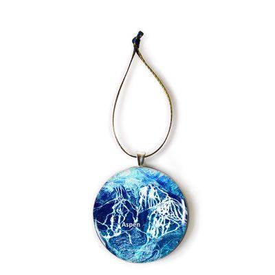 Ski Mountain Ornament