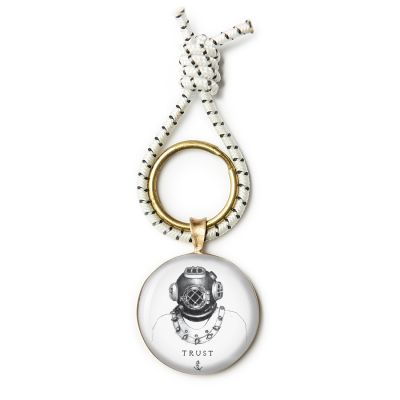 Bell & Beacon Bronze Key Ring