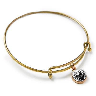 Bronze Mini Expandable Bangle