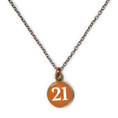 2021 Graduation Bronze Mini Necklace