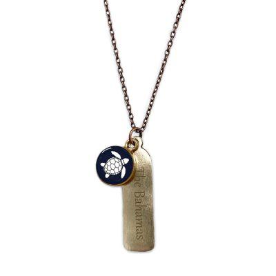 Bronze Mini Necklace w/ Tag