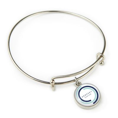 Dempsey Center Pewter Expandable Bangle