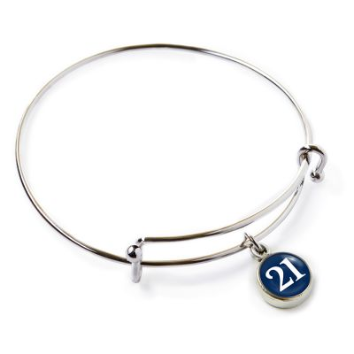 2021 Graduation Pewter Mini Bangle