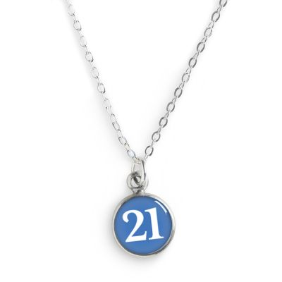 2021 Graduation Pewter Mini Necklace