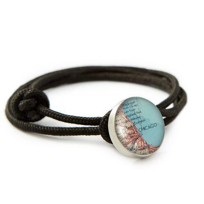 Pewter Rope Bracelet