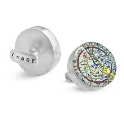 Aeronautical Silver Cufflinks