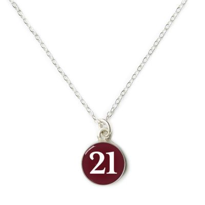 2021 Graduation Silver Mini Necklace