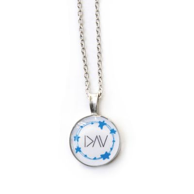 Type 1 Diabetes Pewter Extra Small Necklace